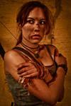 Lara Croft REBORN cosplay - cold by TanyaCroft