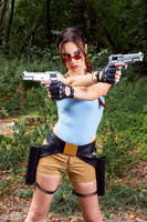 Lara Croft CLASSIC cosplay - WeGame 2-1 by TanyaCroft