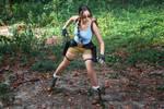 Lara Croft CLASSIC cosplay - WeGame 2-4 by TanyaCroft