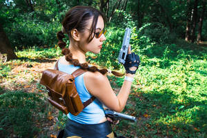 Lara Croft CLASSIC cosplay - WeGame 2-6 by TanyaCroft