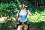 Lara Croft CLASSIC cosplay - WeGame 2-10 by TanyaCroft