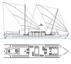 Imperial Dromon - fantasy ship concept by oldschoolitems