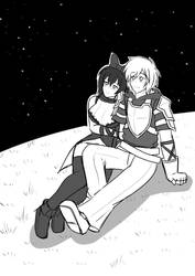 BW Commission : Blake X Jaune by KegiSpringfield
