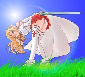 Asuna by Xakimus