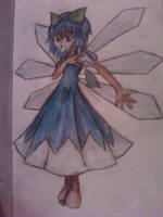 Old Cirno Fanart by apotropaic-puppet
