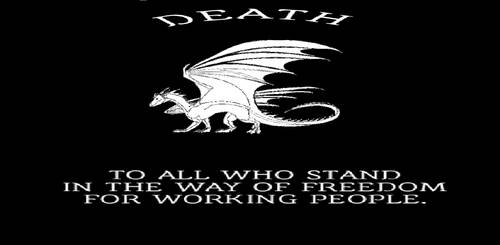 Draconic Free Terrority Flag by TheCommunistDragon
