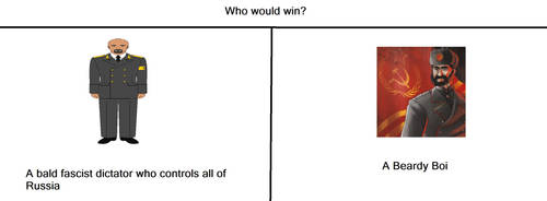 Who Would Win by TheCommunistDragon