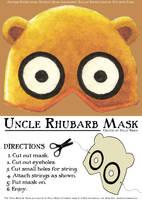 'Uncle Rhubarb' Mask by Mr-Sisson