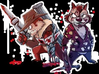 Chip and Dale: Zombie Crushers by BeshAniyZayka