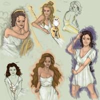 Greek Goddess Galore by MioneBookworm