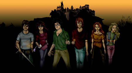 Deathly Hallows - The Heroes 2 by MioneBookworm