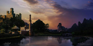 A Niceplace City Matte by surendrarajawat