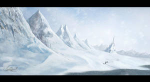 Snow Castle by surendrarajawat