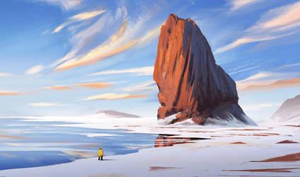 Cold Coast- Speed Paint by surendrarajawat