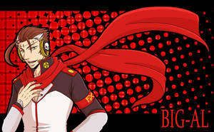 Big Al - Red muffler by taku1