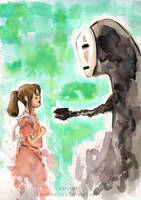Spirited Away by BowieKelly