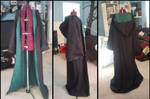 Commission: Slytherin Robe by Antiquity-Dreams