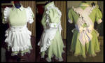 Commission: Mochi Maid Cafe Uniform by Antiquity-Dreams