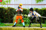 Sasuke and Naruto Ryujinki by Antiquity-Dreams