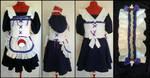 Commission: Sasuke Lolita Maid v.1 style by Antiquity-Dreams