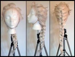 Commission: Frozen Elsa Wig by Antiquity-Dreams