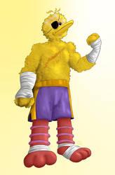 Sesame Street Fight: Big Bagat by gavacho13