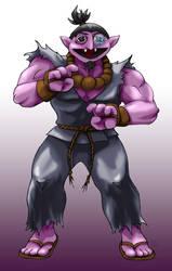 Sesame Street Fighter Acountma by gavacho13