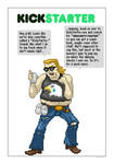 Obscurity Fighter Comic Kickstarter by gavacho13
