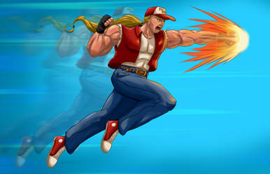 Terry Bogard Burn Knuckle by gavacho13