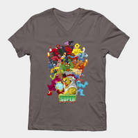 TeePublic.com Sesame Street Fighter Shirts by gavacho13