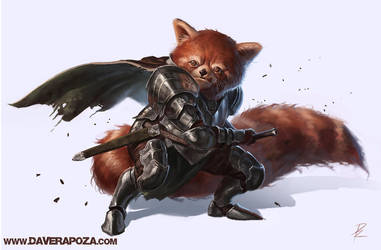 Red Panda by DaveRapoza