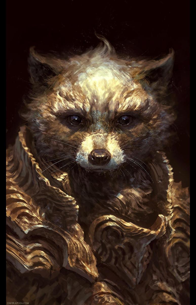 Raccoon by DaveRapoza