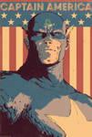 Captain America Cover by DaveRapoza