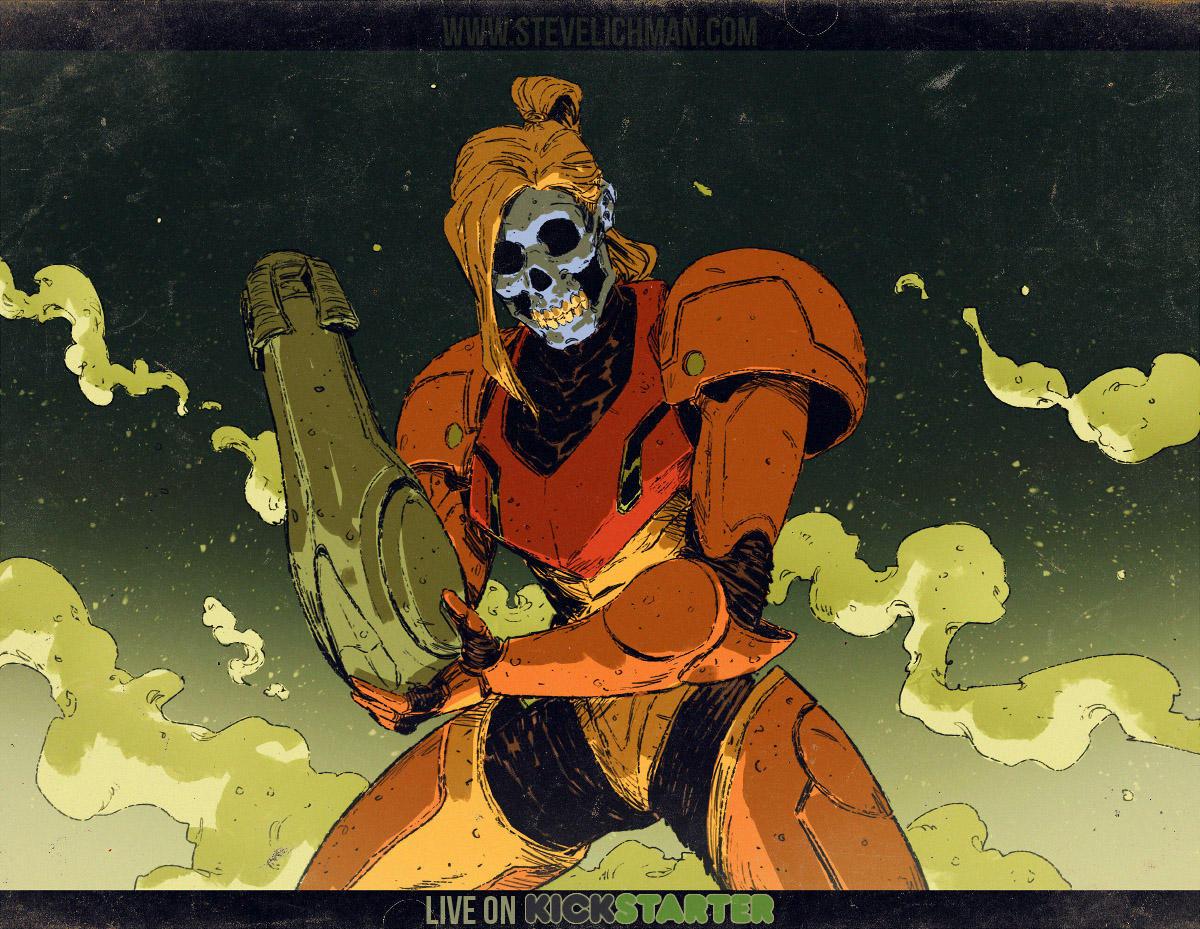 Steven Aran - Steve Lichman Kickstarter is Live! by DaveRapoza