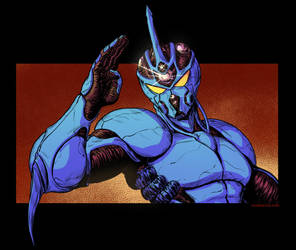 Guyver Colors by DaveRapoza