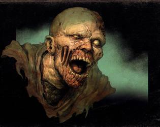 Resident Evil 2 Zombie by DaveRapoza