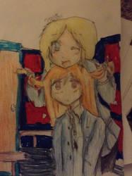 Marisa and Victoria by Kawaiiart666