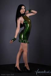 VipersDoll Latex-Dress KL0019 by AmatorisLatexCouture