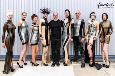GothicMagazine Amatoris Latex-Couture FashionShow by AmatorisLatexCouture