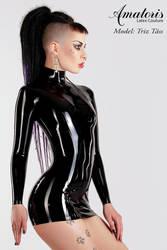 TrizTaess Latex Dress by AmatorisLatexCouture