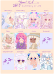 2017 Summary of Art by YumiKF