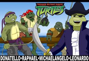 Teenage Mutant Pirate Turtles by ESushi