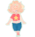 Rainbow Quartz (Fusion of Pearl and Steven) by AnniaPanConQUESO