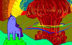 god dammit rainbow dash by seniorpony