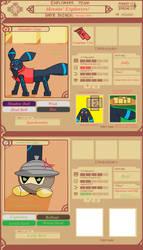 PMDUnity Official Team Heroin' Explorers Aplicatio by GamePlayerDani