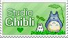Studio Ghibli Love by Reveriesian