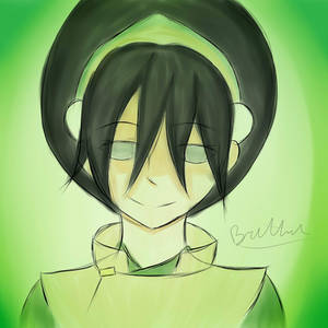 Had this sudden urge to draw Toph :D by BDOG375