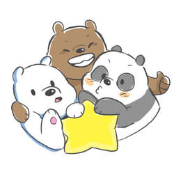 THE BEARS AND THE STAR by Stick2mate