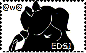 EDS1 Stamp by RaineDrops18