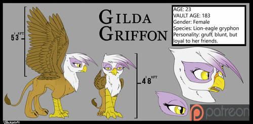 Gilda Reference Sheet by Backlash91